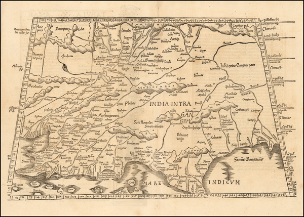 79-India and Central Asia & Caucasus Map By Lorenz Fries