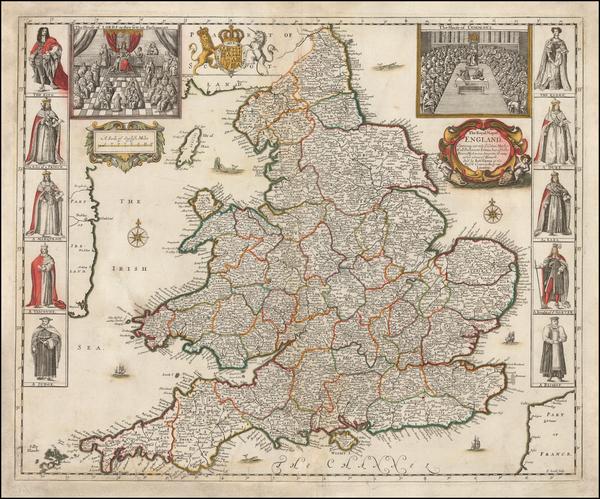 42-England Map By Robert Greene
