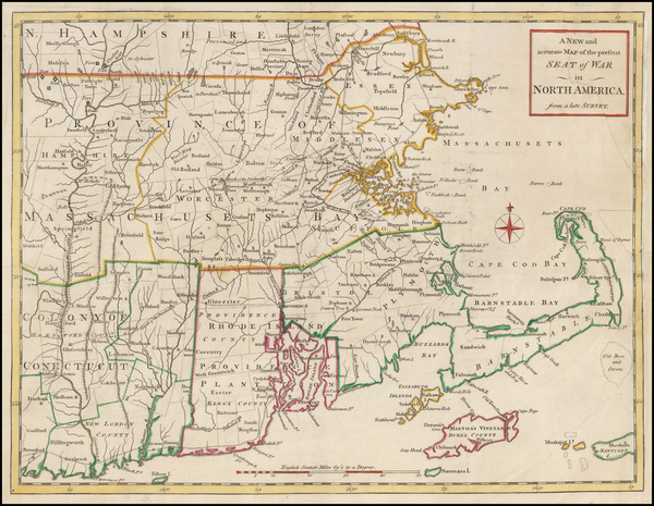 31-New England, Maine, Massachusetts, New Hampshire, Rhode Island and Vermont Map By Universal Mag