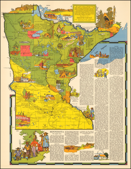 86-Midwest Map By R.T. Aitchison