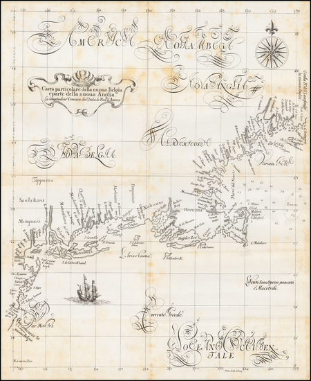 14-New England, New York State and Mid-Atlantic Map By R.H. Pease / Robert Dudley