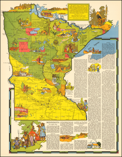 68-Midwest Map By R.T. Aitchison