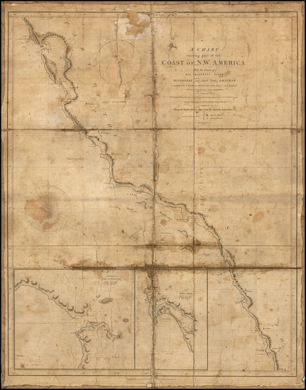 0-California Map By Capt. George Vancouver