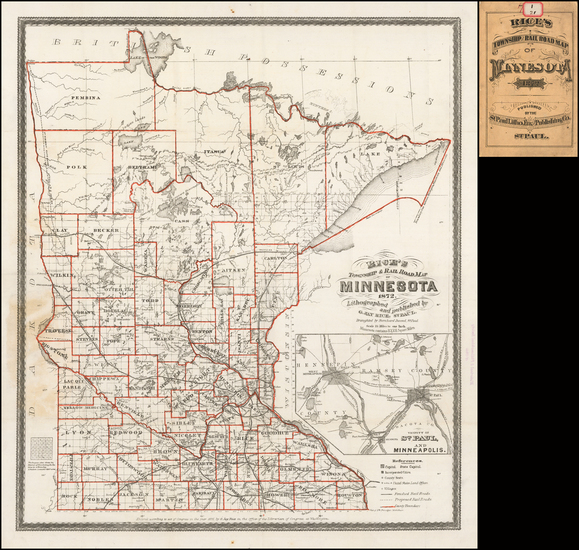 91-Midwest and Minnesota Map By G. Jay Rice