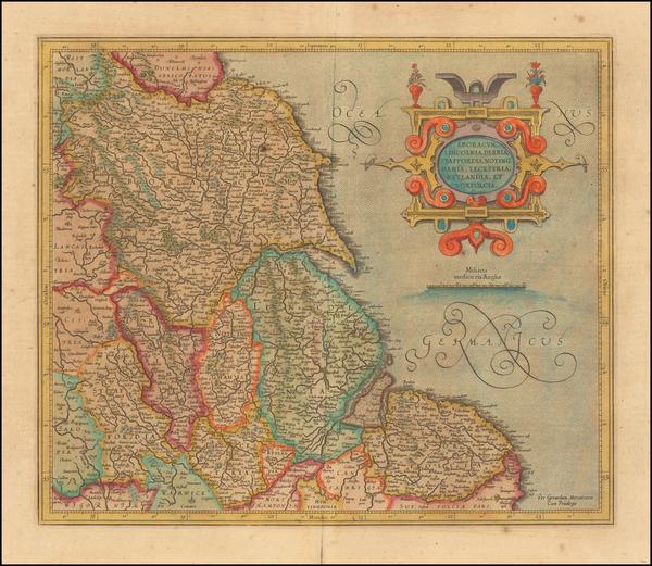 5-British Isles Map By  Gerard Mercator