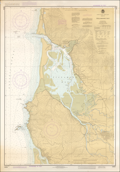 0-Washington Map By National Oceanic and Atmospheric Administration