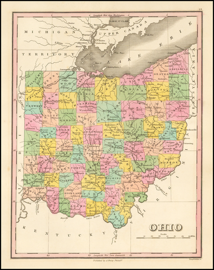 2-Midwest and Ohio Map By Anthony Finley