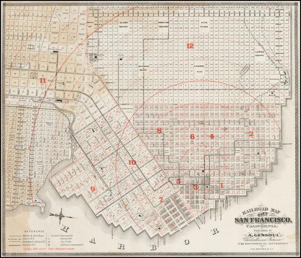 40-San Francisco Map By Britton & Co.