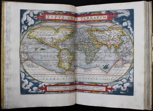 75-Atlases Map By Abraham Ortelius