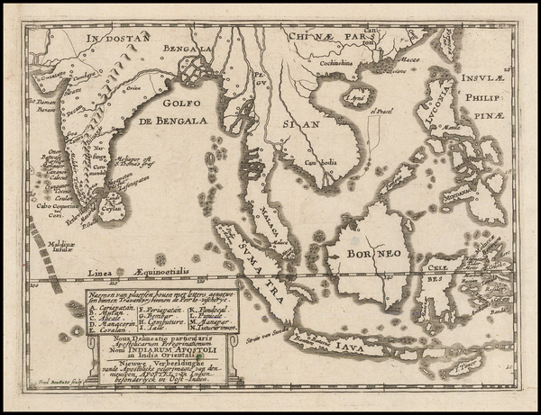 1-India, Southeast Asia and Philippines Map By Frederik Bouttats