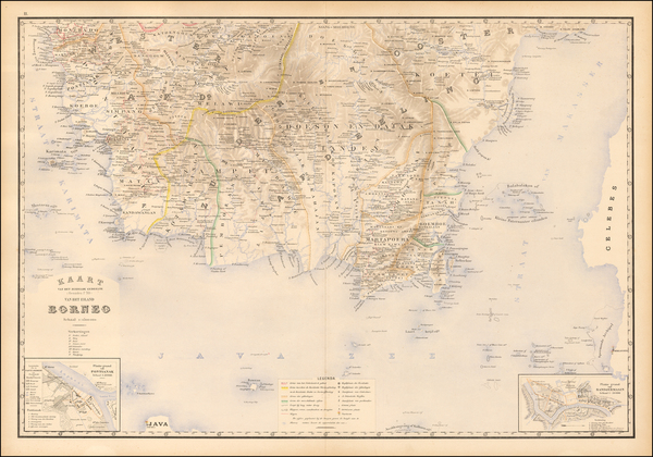 60-Southeast Asia and Other Islands Map By J.W. Stemfoort