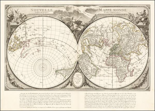 21-World, World, Northern Hemisphere and Southern Hemisphere Map By Paolo Santini