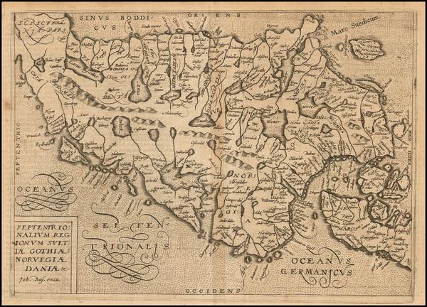 37-Scandinavia Map By Janus Bussemacher