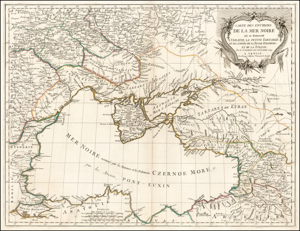 95-Ukraine, Romania, Balkans and Central Asia & Caucasus Map By Paolo Santini