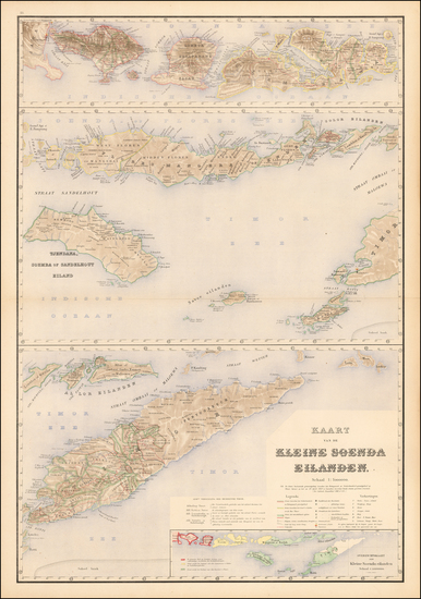 51-Southeast Asia and Other Islands Map By J.W. Stemfoort
