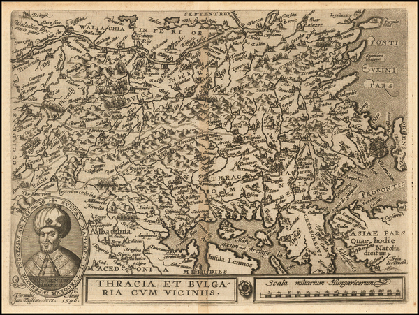 12-Balkans and Turkey Map By Janus Bussemacher