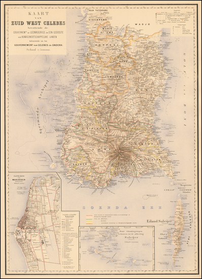 90-Southeast Asia and Other Islands Map By J.W. Stemfoort