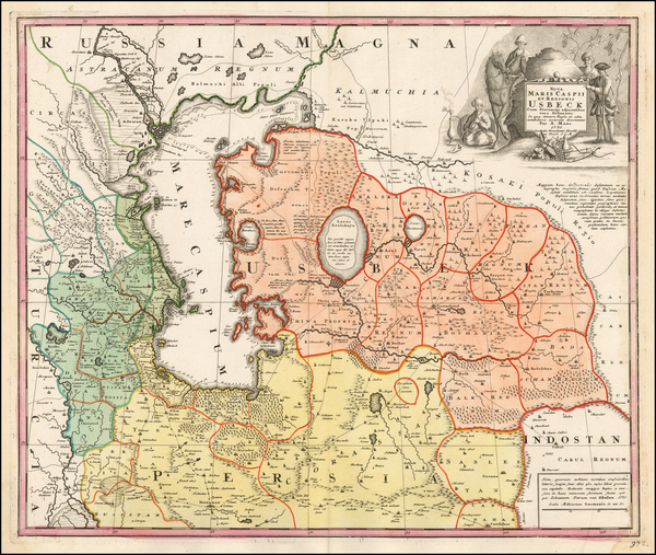 17-Russia, Ukraine and Central Asia & Caucasus Map By A Maas