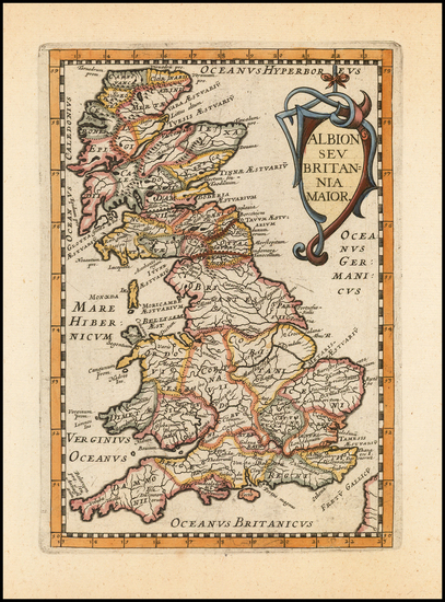 11-British Isles Map By Philip Briet