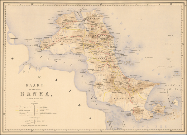 80-Southeast Asia and Other Islands Map By J.W. Stemfoort