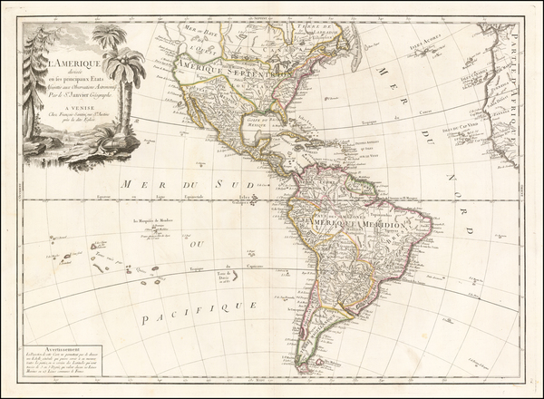 4-South America and America Map By Paolo Santini