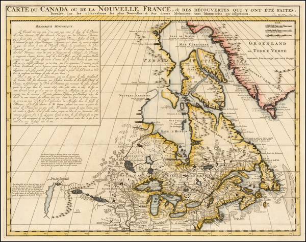 25-New England, Midwest and Canada Map By Henri Chatelain