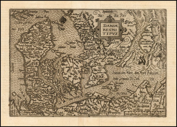 30-Baltic Countries and Scandinavia Map By Janus Bussemacher