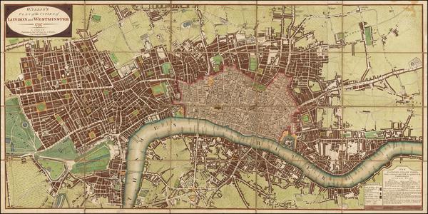 6-British Isles and London Map By John Wallis