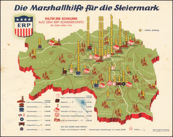 28-Austria Map By Artaria & Co. / Freytag & Berndt