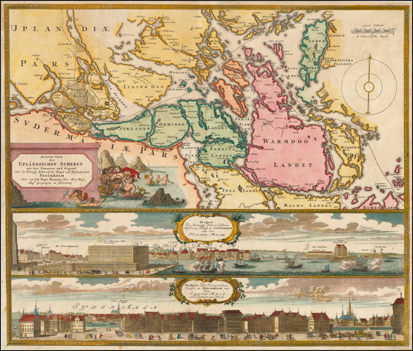 98-Scandinavia Map By Johann Baptist Homann