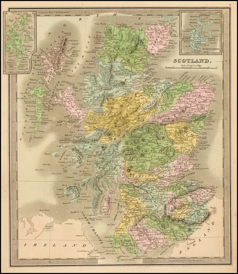 5-Scotland Map By Jeremiah Greenleaf