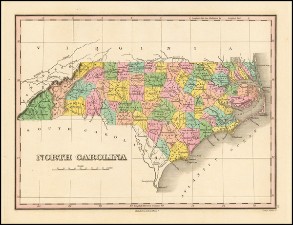 13-Southeast and North Carolina Map By Anthony Finley