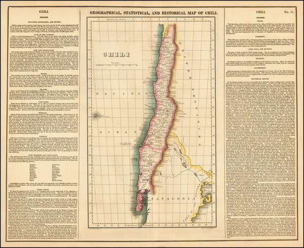 South America Map By Henry Charles Carey  &  Isaac Lea