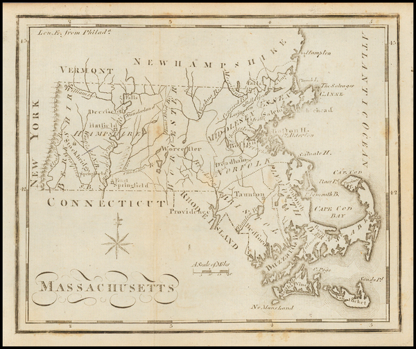 60-Massachusetts and Southeast Map By Joseph Scott