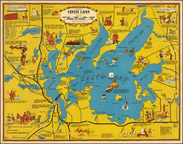 33-Midwest and Minnesota Map By Frank Antoncich