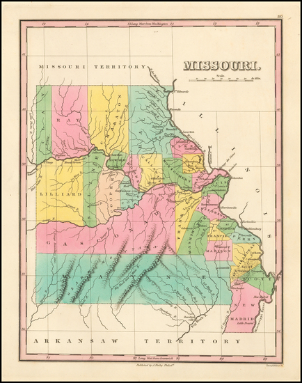 82-Midwest, Plains and Missouri Map By Anthony Finley