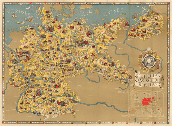 50-Germany Map By Riemer