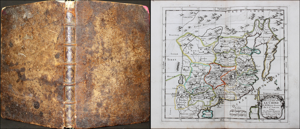 33-Asia, Asia, China, Japan, Korea, Southeast Asia and Atlases Map By Pierre Mariette  &  Nico