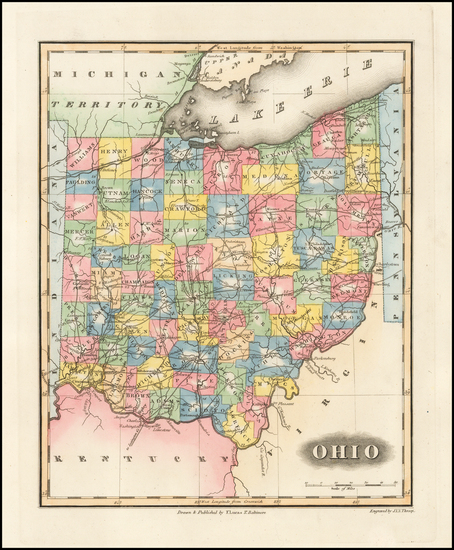 17-Midwest and Ohio Map By Fielding Lucas Jr.