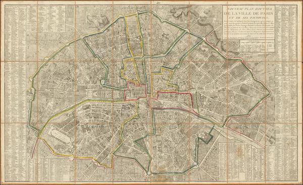 63-France and Paris Map By Jacques Esnauts