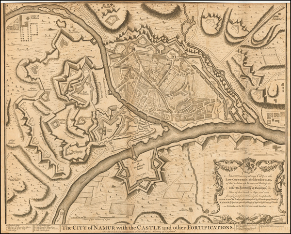 11-Netherlands Map By Paul de Rapin de Thoyras