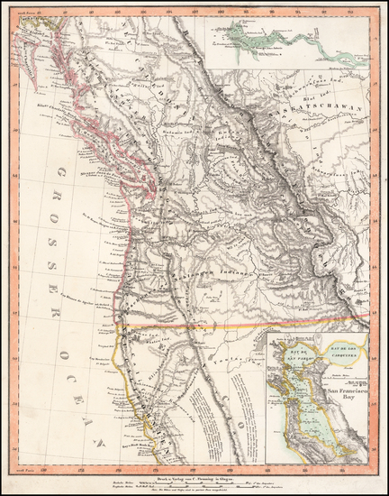 48-Pacific Northwest, Oregon, Washington and California Map By Carl Flemming