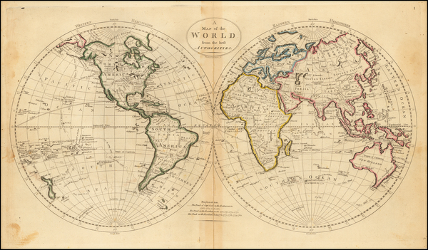World and World Map By John Vallance  &  James Thackara