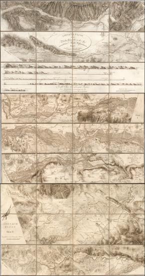 83-Austria Map By Adrian  von Riedl