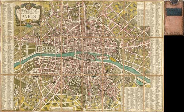 28-Paris Map By Jacques Esnauts  &  Michel Rapilly