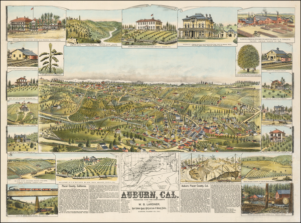 8-Other California Cities Map By W.W. Elliott & Co.