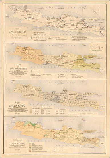 42-Southeast Asia and Other Islands Map By J.W. Stemfoort