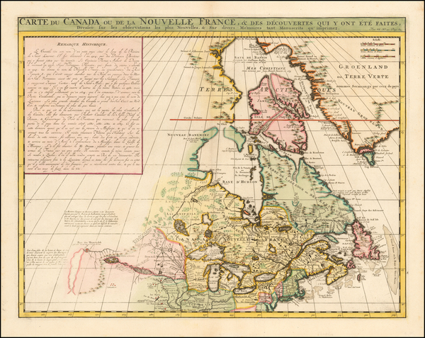 77-New England, Midwest and Canada Map By Henri Chatelain