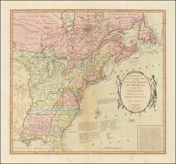 United States Map By Carrington Bowles  &  Jonathan Carver