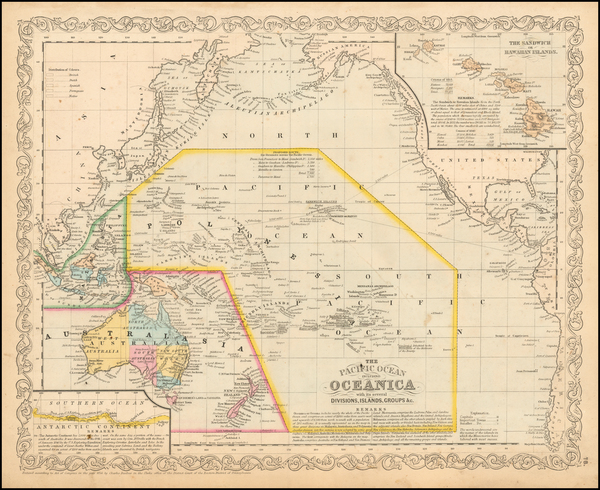 12-Pacific, Oceania and Other Pacific Islands Map By Charles Desilver